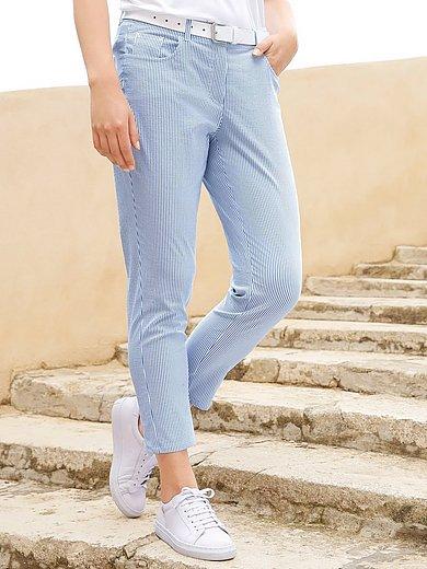 Anna Aura - Le pantalon en seersucker