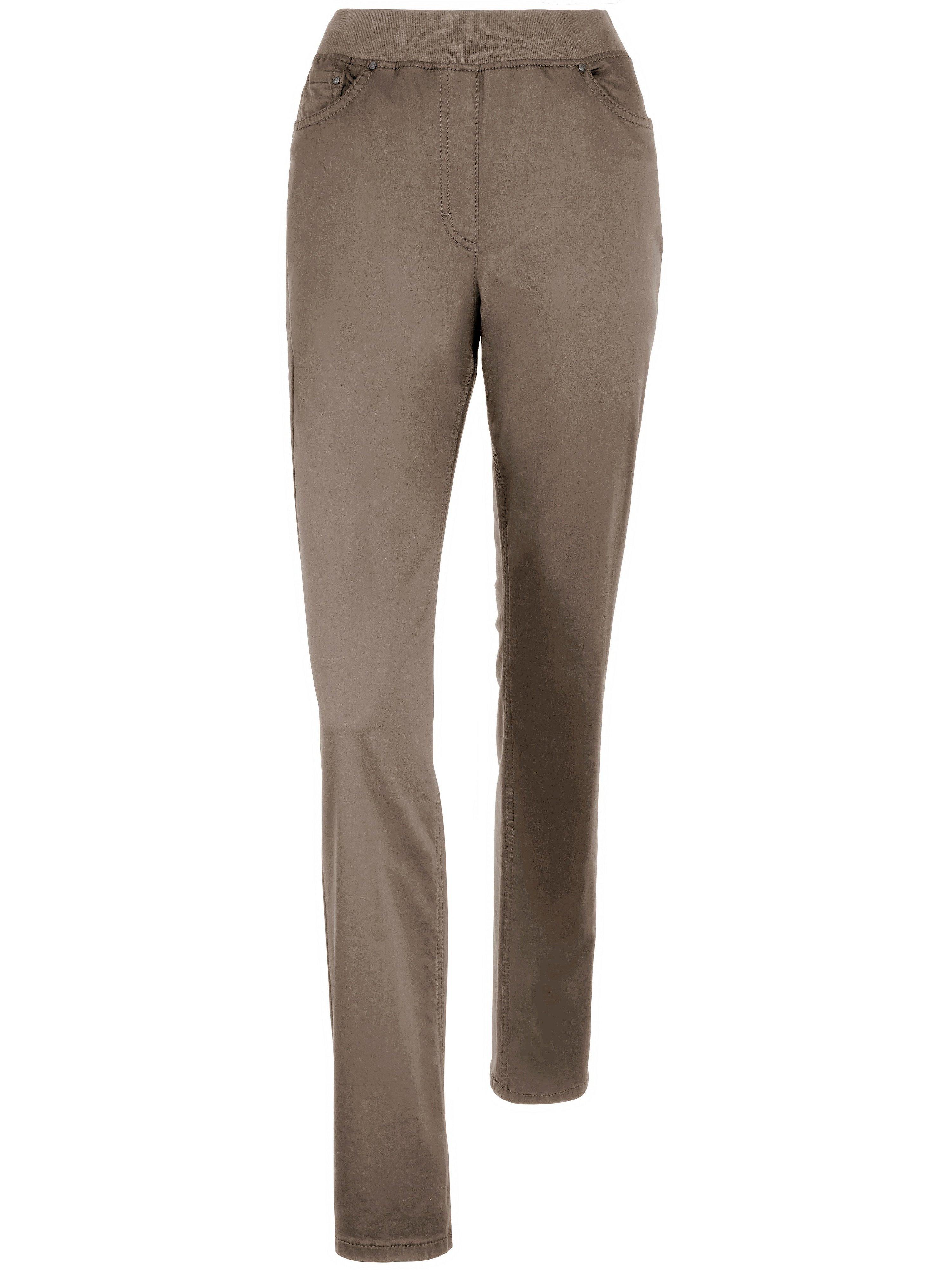 ProForm Slim slip-on trousers design Pamina Raphaela by Brax beige