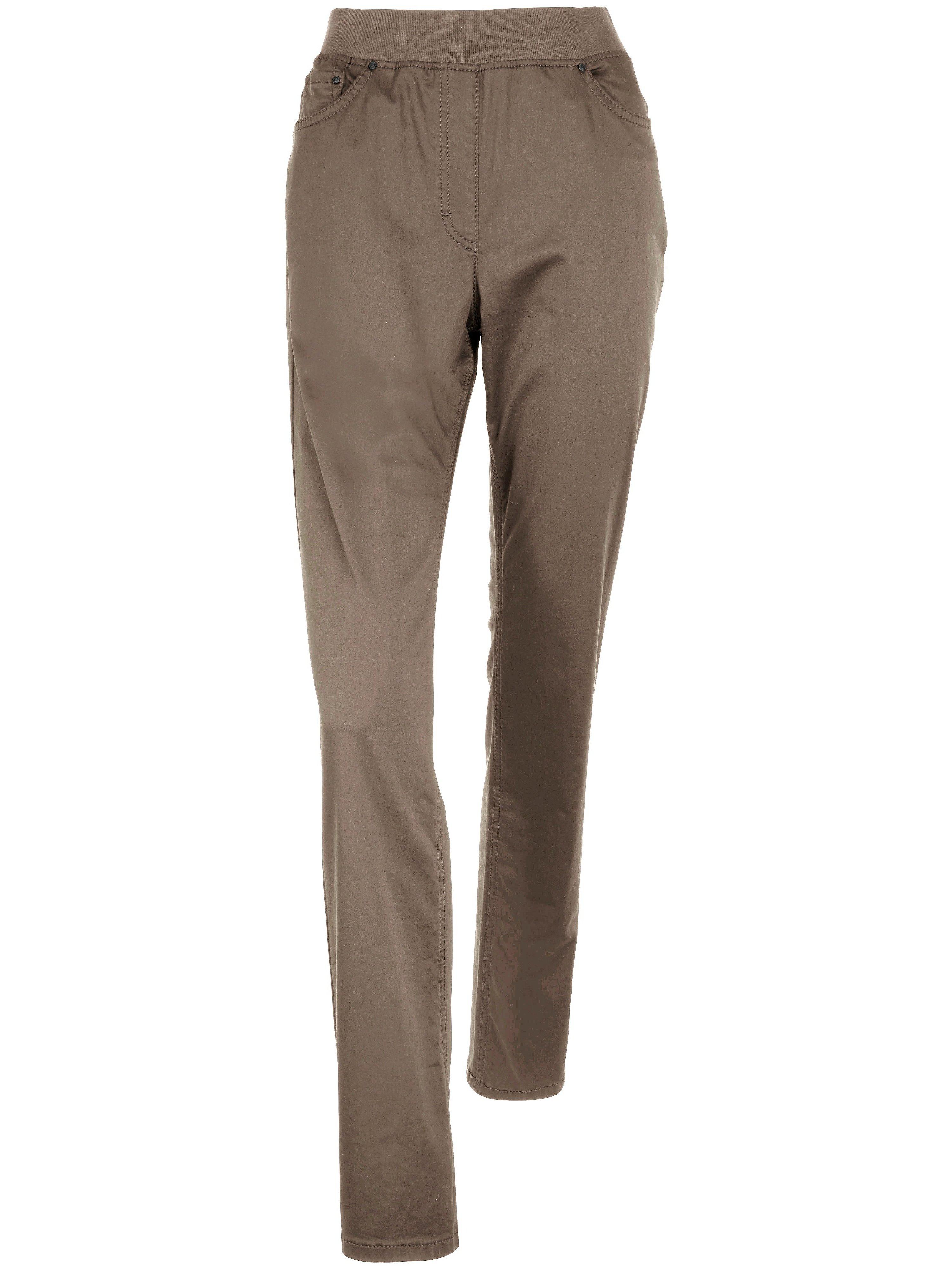 Comfort Plus slip-on trousers design Carina Raphaela by Brax beige