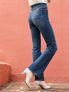 Bootcut Damenjeans mit ausgestelltem Bein |