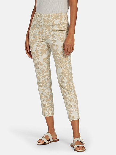 Peter Hahn - 7/8-length pull-on trousers Sylvia fit