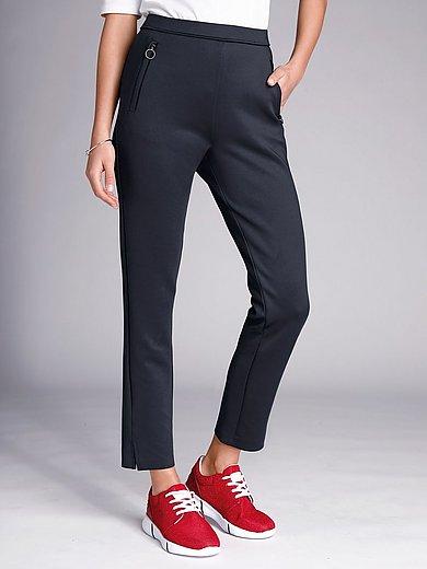 Margittes - Slip-on elasticated waist trousers