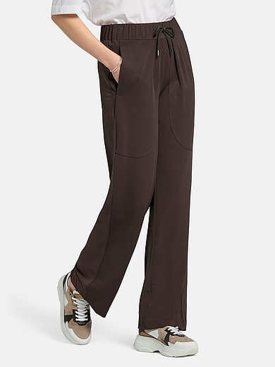 Margittes - Jersey pull-on trousers
