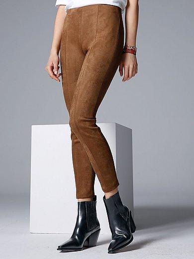comma, - Le pantalon taille élastiquée en synthétique