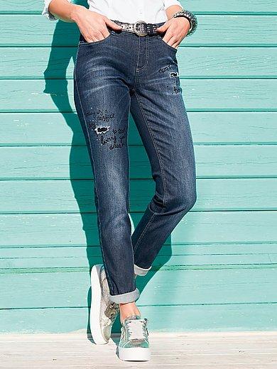 FLUFFY EARS - Jeans im leichten Used-Look
