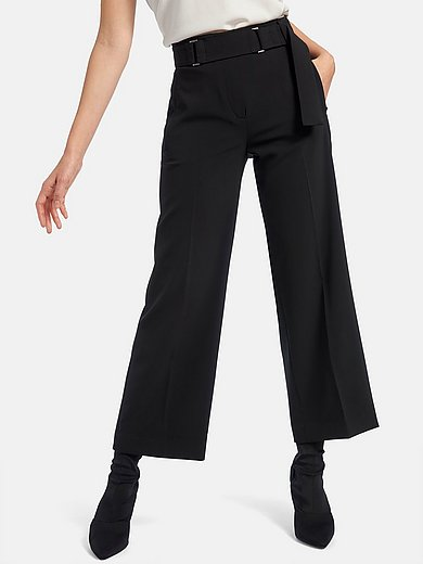 Riani - 7/8-length trousers with higher waist and wide leg
