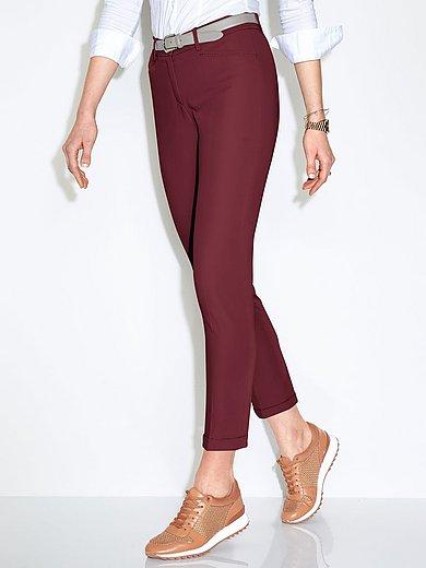 Brax Feel Good - Ankle-length Modern Fit trousers design Maron