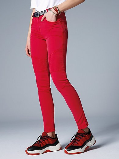 Marc Aurel - Trousers in slim 5-pocket design