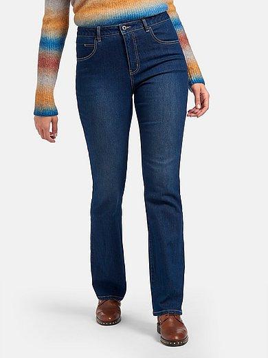 Emilia Lay - Jeans in bootcutmodel met iets uitlopende pijpen