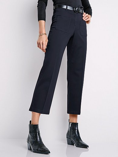 Brax Feel Good - Wide Fit 7/8-length trousers design Maine S