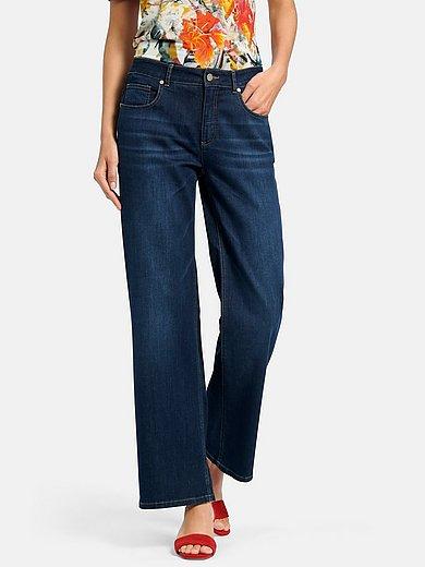 Uta Raasch - Wide leg jeans in 5-pocket style