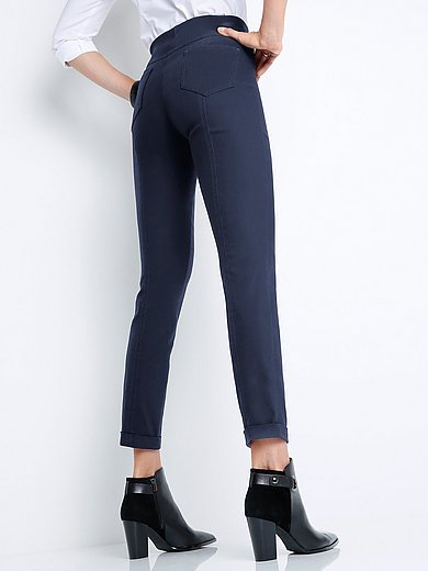 Peter Hahn - Ankle-length pull-on trousers Sylvia fit