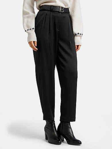 Laura Biagiotti Roma - 7/8-length trousers with box pleats