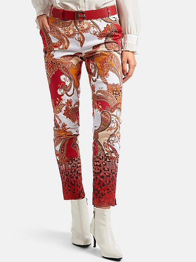 Laura Biagiotti Roma - Trousers with exclusive ornamental design