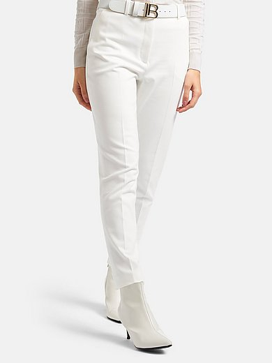 Laura Biagiotti ROMA - Ankle-length trousers with shaping waistband