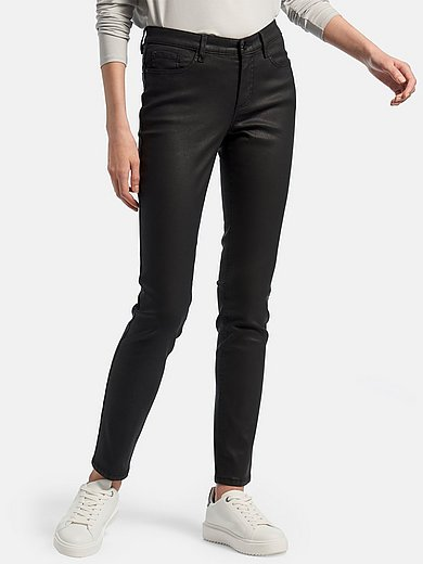 DAY.LIKE - Skinny Fit-broek met coating