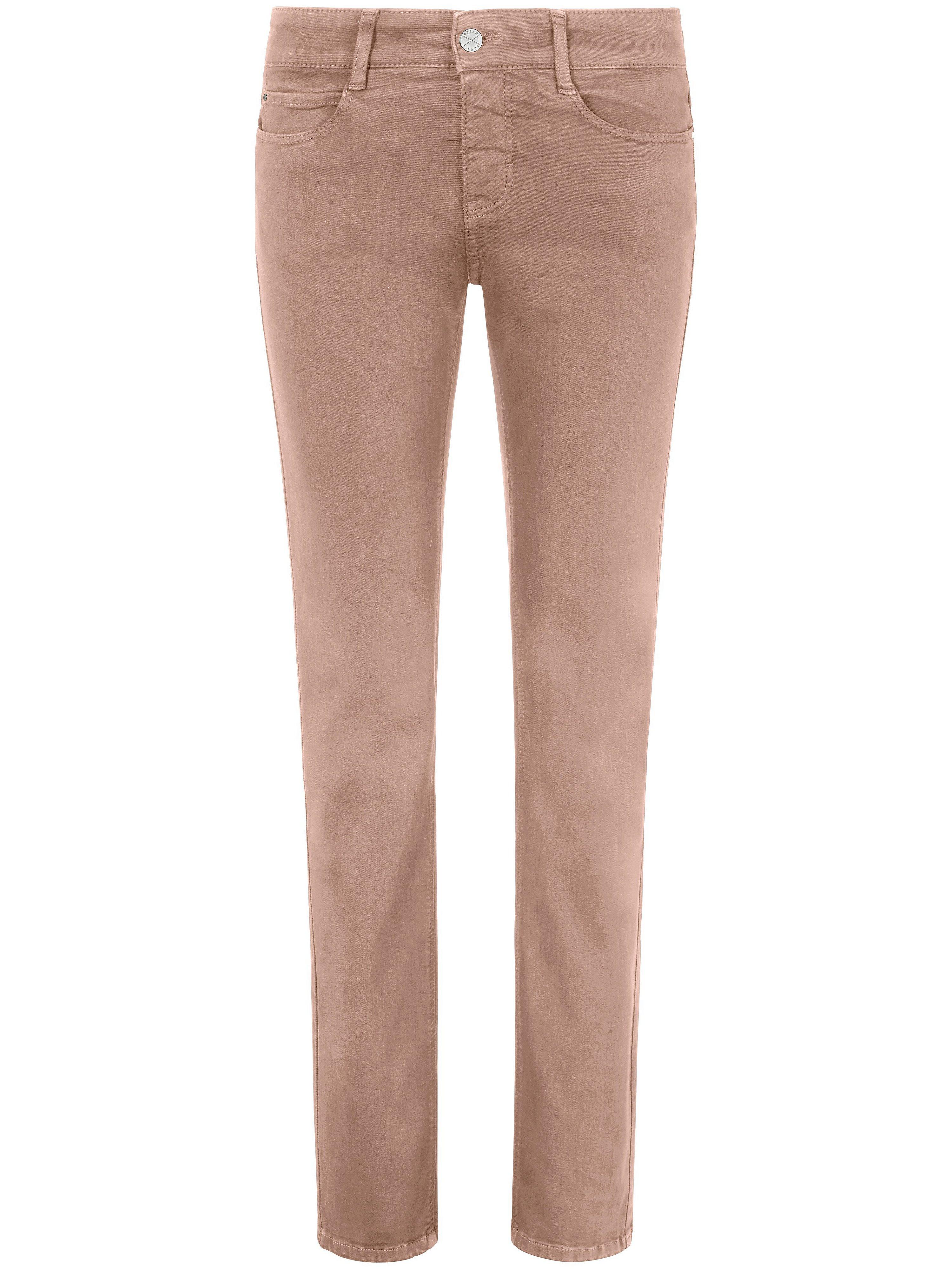 Jeans Dream met rechte pijpen Van Mac lichtroze