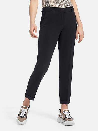 Marc Aurel - Ankle-length trousers with turn-ups