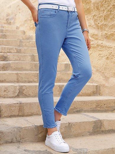 Anna Aura - Le jean longueur chevilles coupe 5 poches