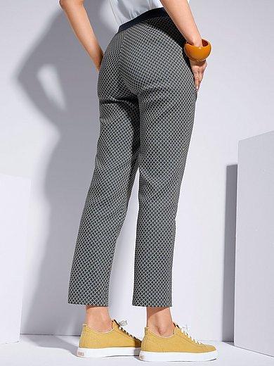 Samoon - Le pantalon modèle Betty cuisses amples