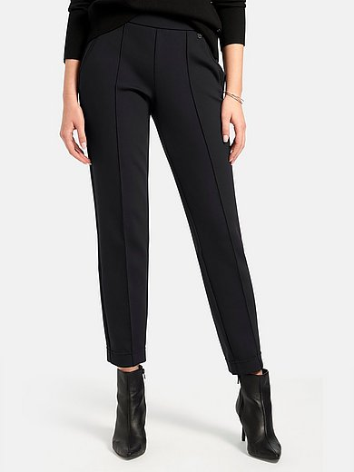 Basler - Jersey slip-on trousers