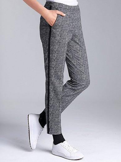 comma, - Le pantalon longueur chevilles à carreaux
