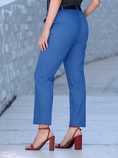 Emilia Lay - Le pantalon longueur chevilles à plis marqués