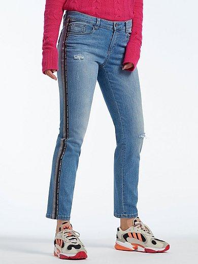 Glücksmoment - Jeans model GRACE met galons langs de zijnaden