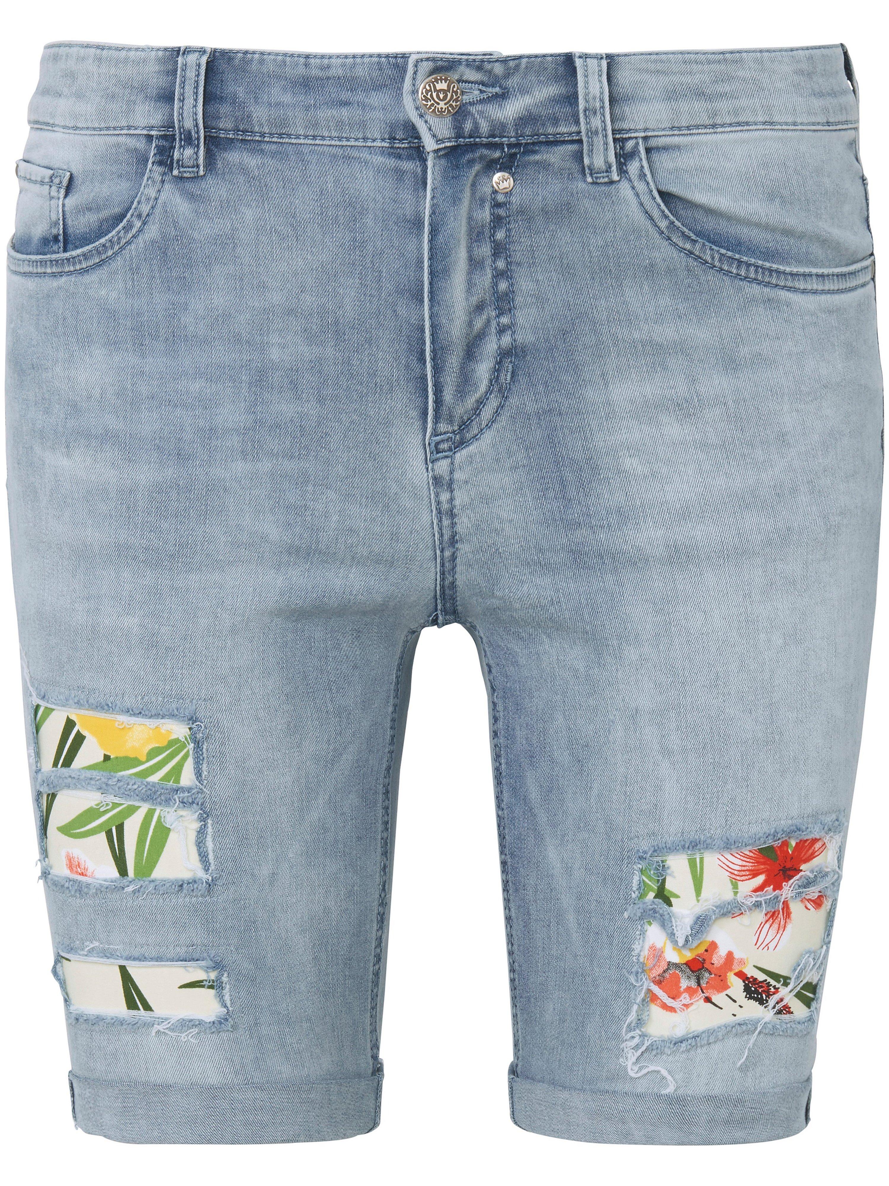 Le bermuda jean modèle Gina  Glücksmoment denim taille 46