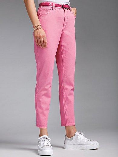 MYBC - Le jean longueur chevilles en coton stretch