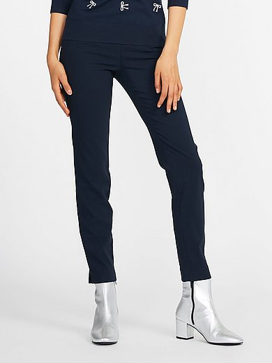 Peter Hahn - Ankle-length slip-on trousers