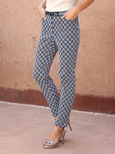 Uta Raasch - Le pantalon en jacquard, ligne élancée