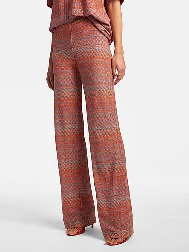 Laura Biagiotti Roma - Jersey trousers in pull-on style