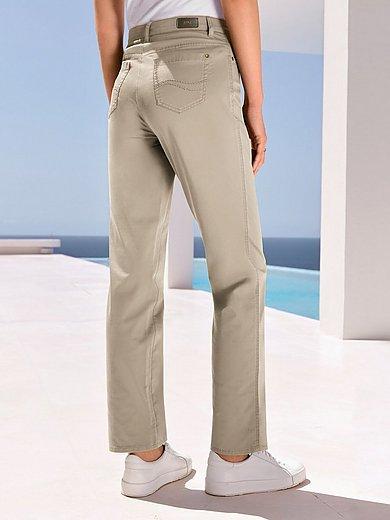 Brax Feel Good - Feminine fit broek model Nicola van PIMA COTTON