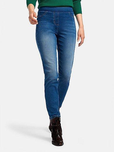 Peter Hahn - Le jean longueur chevilles coupe Sylvia