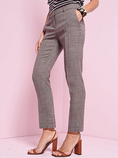 Windsor - Ankle-length trousers with Prince-of-Wales check