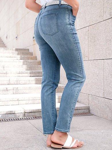 Emilia Lay - 5-pocketsjeans met smalle, iets verkorte pijpen