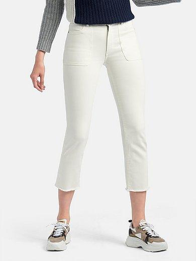 DL1961 - Jeans model Mara met franjerand aan de pijpen