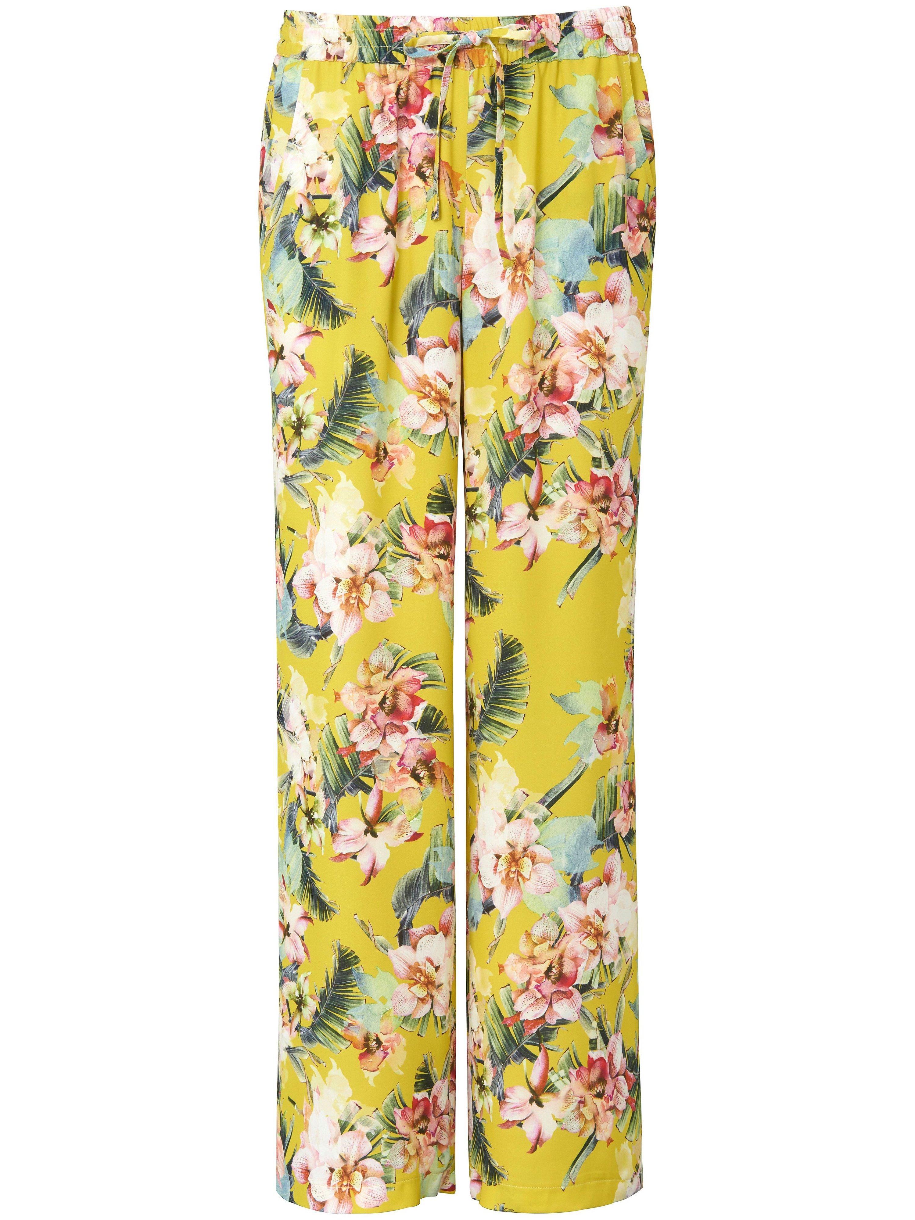 Trousers, Cornelia fit Peter Hahn yellow
