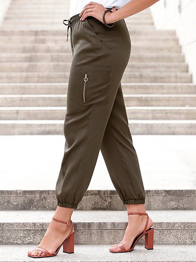Emilia Lay - 7/8-broek in jogg-pant-stijl met elastische band