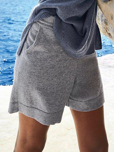 FLUFFY EARS - Strick-Shorts aus 100% PREMIUM Kaschmir