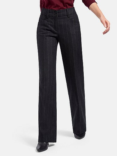 Peter Hahn - Le pantalon Wide Fit coupe Cornelia