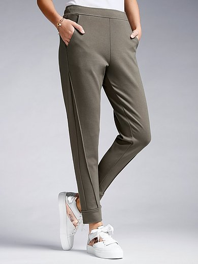 Margittes - Ankle-length jersey trousers