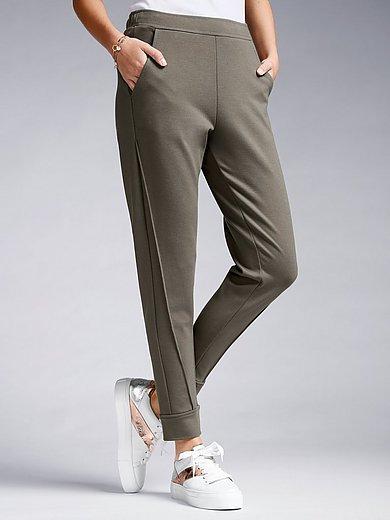 Margittes - Le pantalon longueur chevilles en jersey