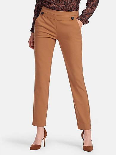 comma, - Trousers with side seam zip