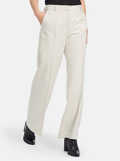 Lanius - Trousers in Marlene style with tucks and pockets