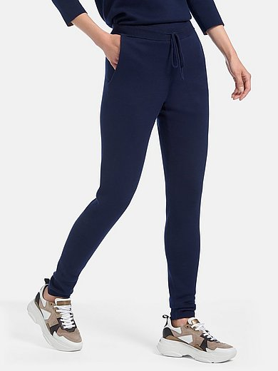 PETER HAHN PURE EDITION - Broek in jogg-pant-stijl