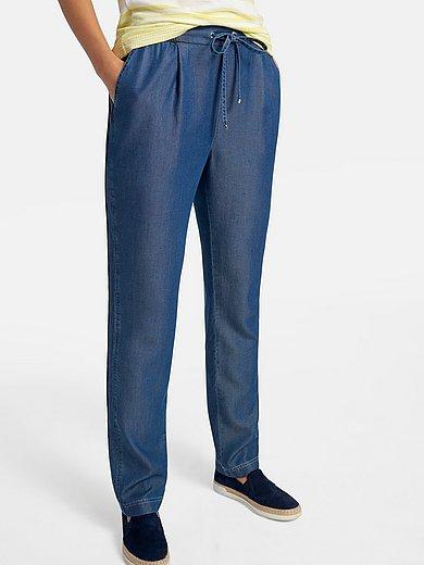 Basler - Enkellange broek in jogg-pant-stijl  model Jil