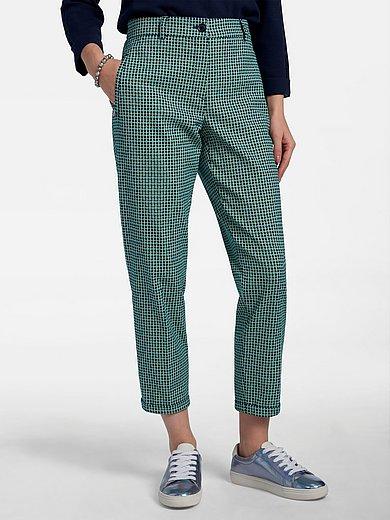 Basler - Enkellange broek model Audrey van minimal-jacquard