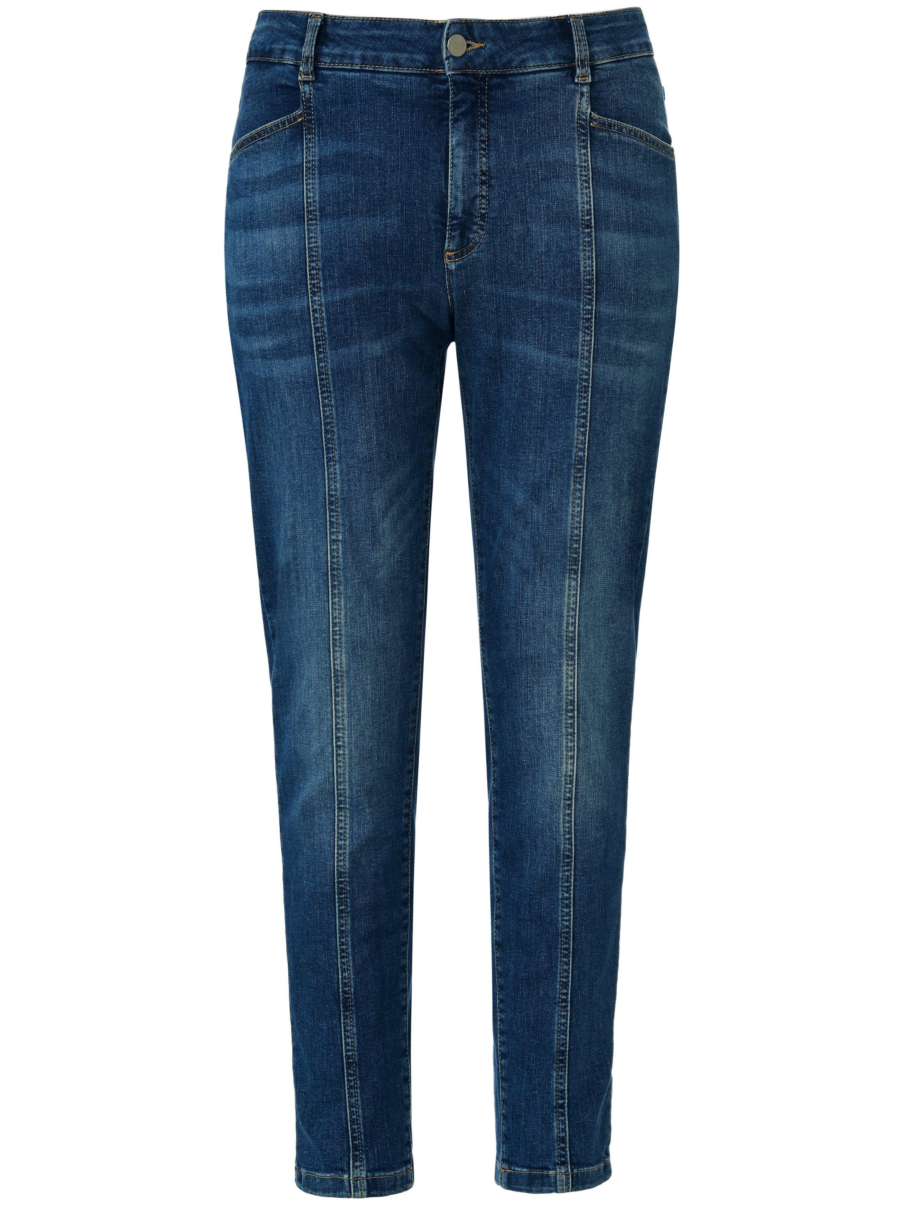 7/8-jeans in 5-pocketsmodel smalle pijpen Van Emilia Lay denim